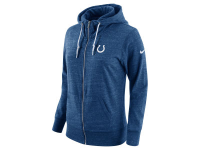 Indianapolis Colts Nike NFL Women's Tailgate Vintage Full Zip Hooded Sweatshirt