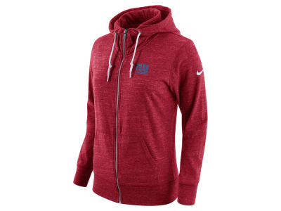 New York Giants Nike NFL Women's Tailgate Vintage Full Zip Hooded Sweatshirt