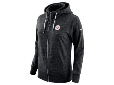 Pittsburgh Steelers Nike NFL Women's Tailgate Vintage Full Zip Hooded Sweatshirt
