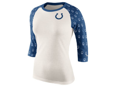 Indianapolis Colts Nike NFL Women's Tri Victory Raglan Shirt