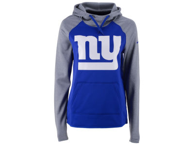 New York Giants Nike NFL Women's Tailgate All Time Hooded Sweatshirt