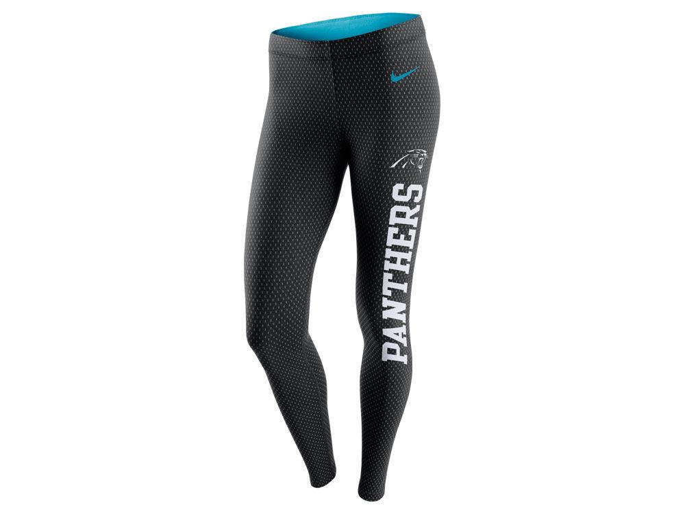 Carolina Panthers Nike NFL Women s Tailgate Leggings  6a5361de80bc