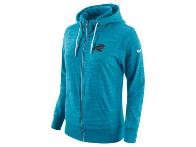 Carolina Panthers Nike NFL Women's Tailgate Vintage Full Zip Hooded Sweatshirt