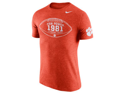 Clemson Tigers Nike NCAA Men's Tri-Blend Moments T-Shirt