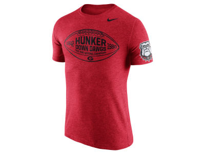 Georgia Bulldogs Nike NCAA Men's Tri-Blend Moments T-Shirt