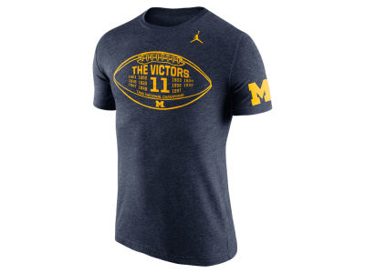 Michigan Wolverines Nike NCAA Men's Tri-Blend Moments T-Shirt