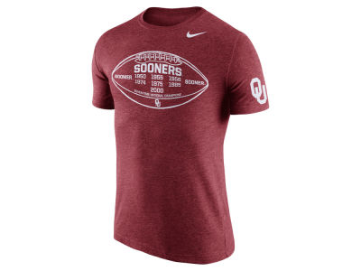 Oklahoma Sooners Nike NCAA Men's Tri-Blend Moments T-Shirt