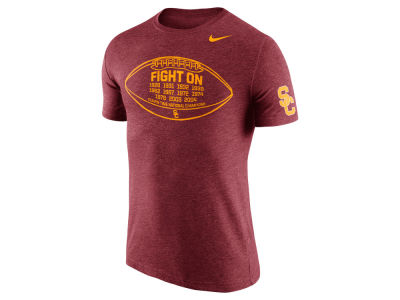 USC Trojans Nike NCAA Men's Tri-Blend Moments T-Shirt