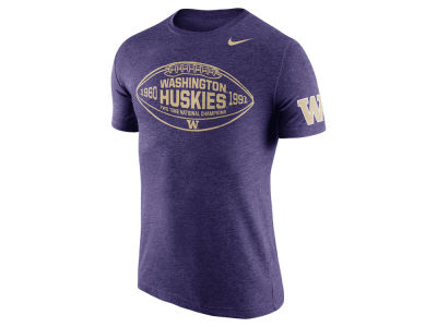 Washington Huskies Nike NCAA Men's Tri-Blend Moments T-Shirt