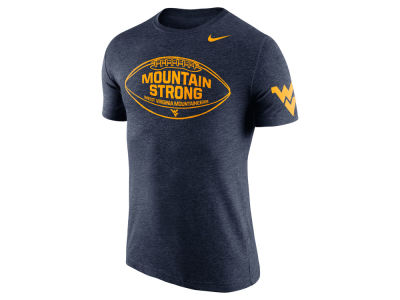 West Virginia Mountaineers Nike NCAA Men's Tri-Blend Moments T-Shirt