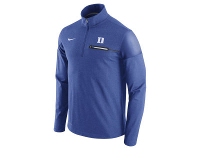 Duke Blue Devils Nike NCAA Men's Elite Coaches Half Zip Pullover