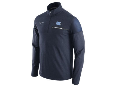 North Carolina Tar Heels Nike NCAA Men's Elite Coaches Half Zip Pullover