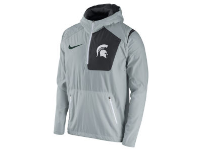 Michigan State Spartans Nike NCAA Men's Speed Fly Rush Pullover Hoodie Jacket