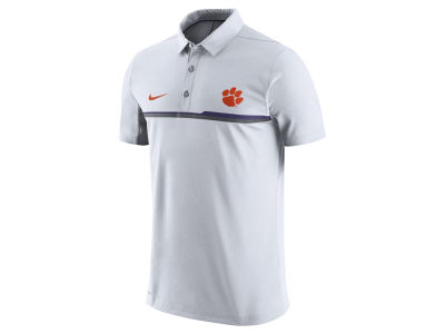 Clemson Tigers Nike NCAA Men's Elite Coaches Polo Shirt