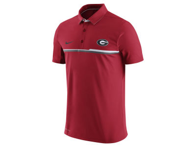 Georgia Bulldogs Nike NCAA Men's Elite Coaches Polo Shirt
