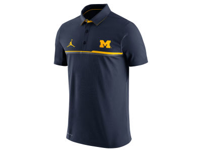 Michigan Wolverines Nike NCAA Men's Elite Coaches Polo Shirt