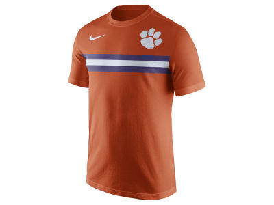 Clemson Tigers Nike NCAA Men's Cotton Team Stripe T-Shirt