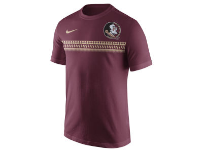 Florida State Seminoles Nike NCAA Men's Cotton Team Stripe T-Shirt