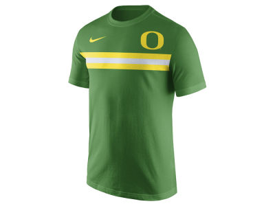 Oregon Ducks Nike NCAA Men's Cotton Team Stripe T-Shirt