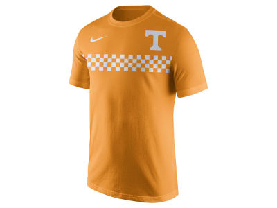 Tennessee Volunteers Nike NCAA Men's Cotton Team Stripe T-Shirt
