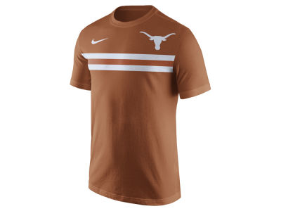 Texas Longhorns Nike NCAA Men's Cotton Team Stripe T-Shirt