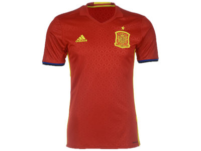 Spain Reebok MLS Men's Euro 2016 Home Replica Jersey