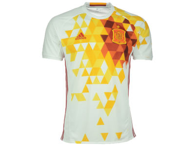 Spain Reebok MLS Men's Euro 2016 Away Replica Jersey