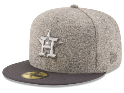 Houston Astros New Era MLB Shady Gray 59FIFTY Cap