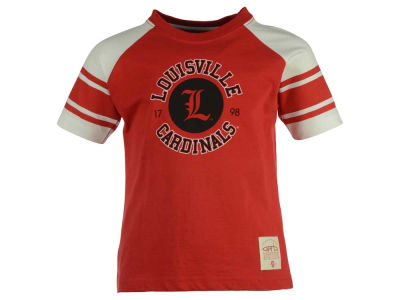 Louisville Cardinals NCAA Toddler Hayden Raglan T-Shirt