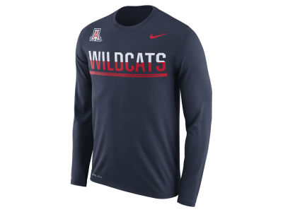 Arizona Wildcats Nike NCAA Men's Legend Staff Sideline Long Sleeve T-Shirt