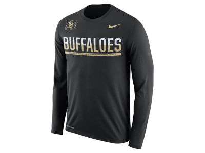 Colorado Buffaloes Nike NCAA Men's Legend Staff Sideline Long Sleeve T-Shirt