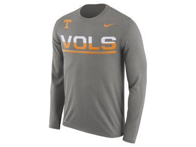Tennessee Volunteers Nike NCAA Men's Legend Staff Sideline Long Sleeve T-Shirt