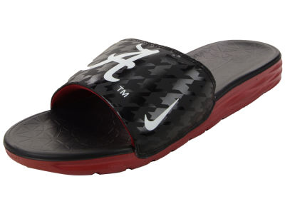 Alabama Crimson Tide Nike NCAA Men's Benassi Solarsoft Slide Sandals