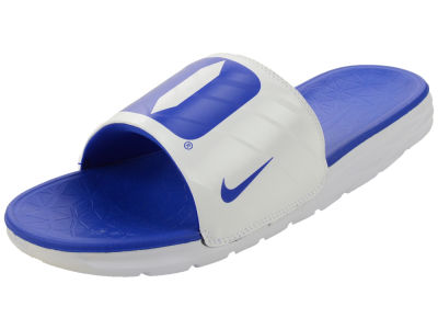 Duke Blue Devils Nike NCAA Men's Benassi Solarsoft Slide Sandals