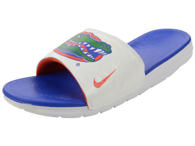 Florida Gators Nike NCAA Men's Benassi Solarsoft Slide Sandals