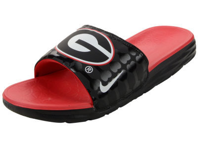 Georgia Bulldogs Nike NCAA Men's Benassi Solarsoft Slide Sandals