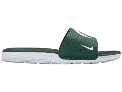 Michigan State Spartans Nike NCAA Men's Benassi Solarsoft Slide Sandals