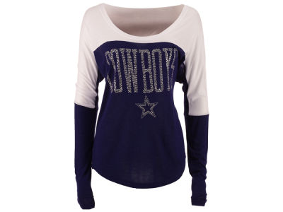 Dallas Cowboys NFL Women's Poole Long Sleeve T-Shirt