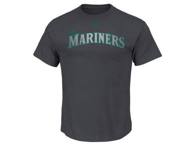 Seattle Mariners Robinson Cano Majestic MLB Men's Platinum Player T-Shirt