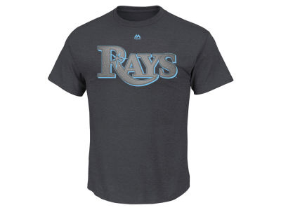 Tampa Bay Rays Kevin Kiermaier Majestic MLB Men's Platinum Player T-Shirt