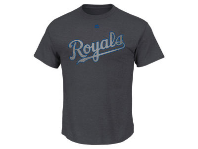 Kansas City Royals Mike Moustakas Majestic MLB Men's Platinum Player T-Shirt