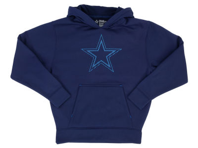 Dallas Cowboys NFL Youth Hatfield Performance Hoodie