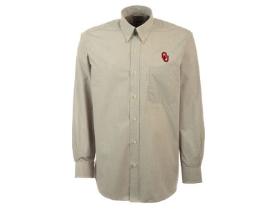 Oklahoma Sooners NCAA Men's Focus Woven Button Up Shirt