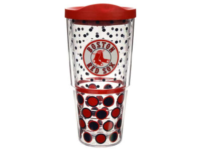 Boston Red Sox 24oz. Polka Dot Tumbler With Lid