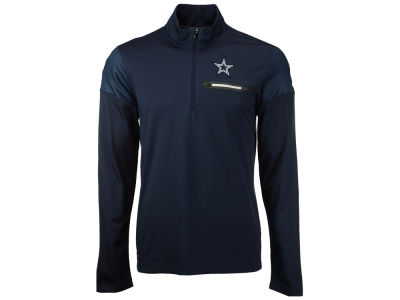 Dallas Cowboys Nike NFL Men's Elite Coaches 1/4 Zip Pullover