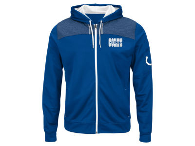 Indianapolis Colts NFL Men's Game Elite Full Zip Hoodie