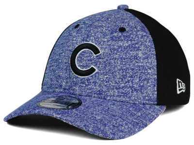 Chicago Cubs New Era MLB Team Color Tech Fuse 39THIRTY Cap