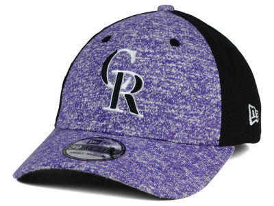 Colorado Rockies New Era MLB Team Color Tech Fuse 39THIRTY Cap