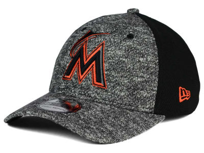 Miami Marlins New Era MLB Team Color Tech Fuse 39THIRTY Cap