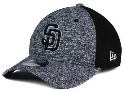 San Diego Padres New Era MLB Team Color Tech Fuse 39THIRTY Cap